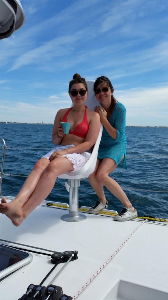 marine et delphine