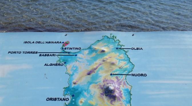 Première traversée et arrivée en Sardaigne, baie d'Asinara