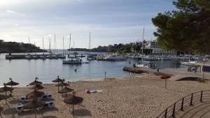 Porto cristo plage et bateaux