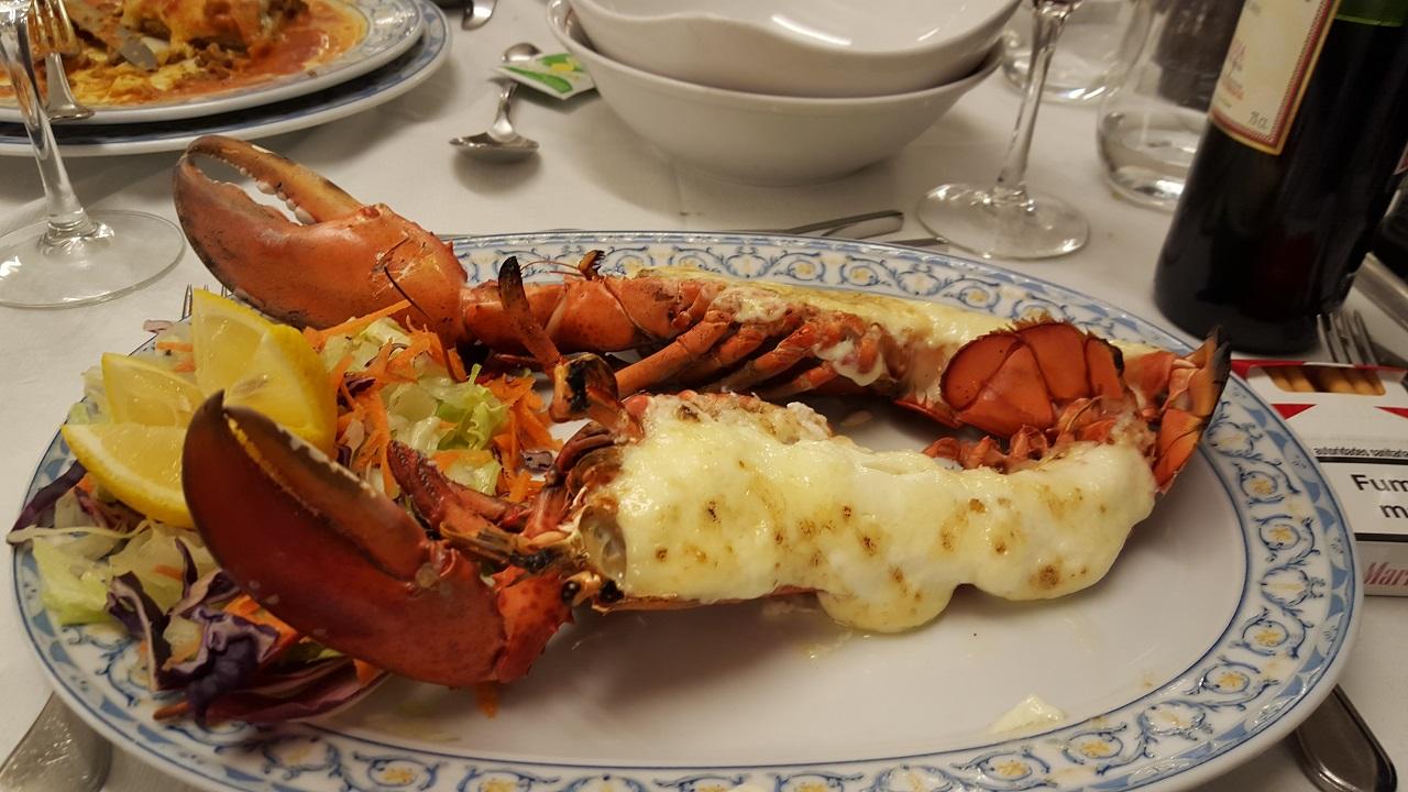 homard gratiné fornells