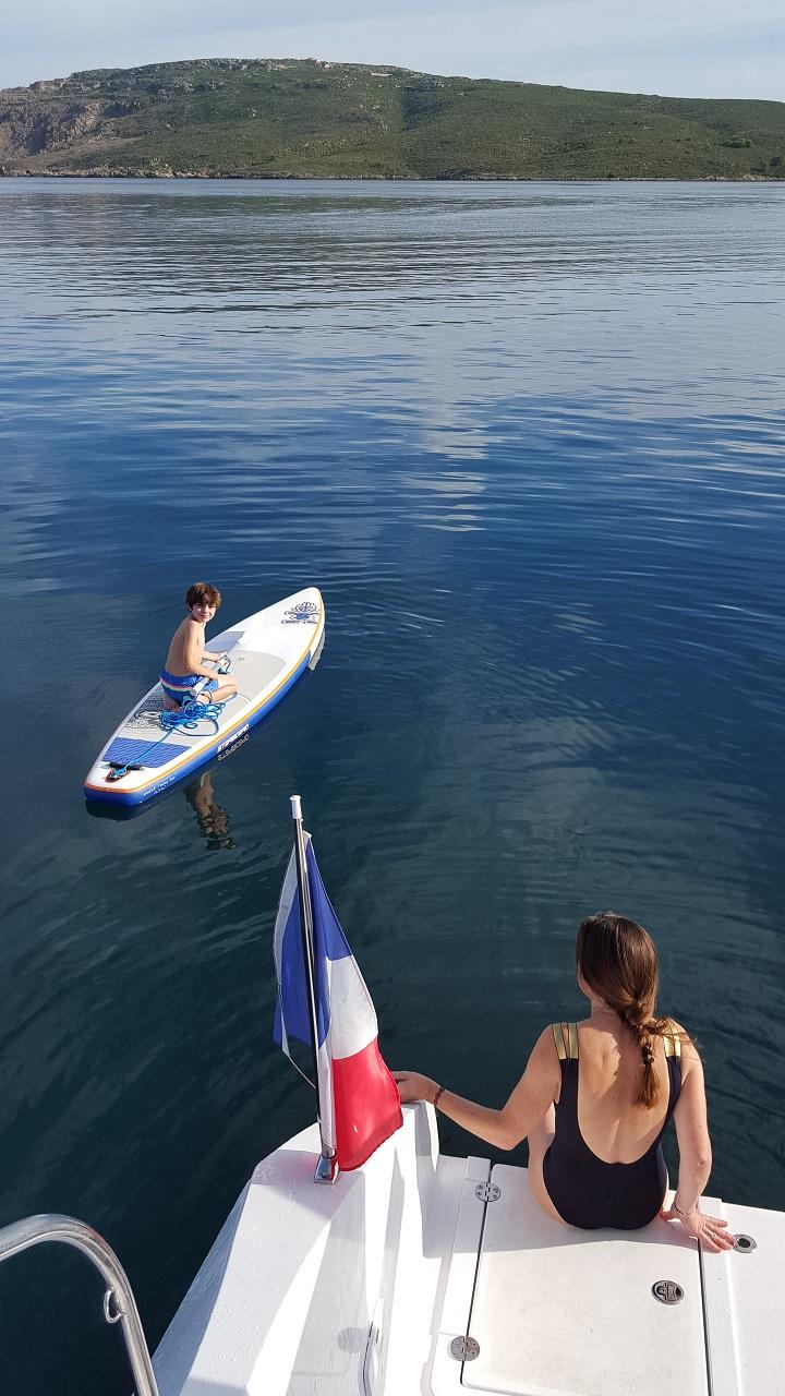 mathis sur sub avec delphine