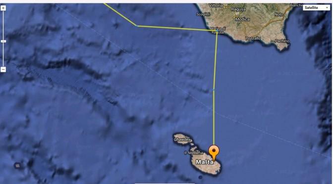 Arrivée à Malte