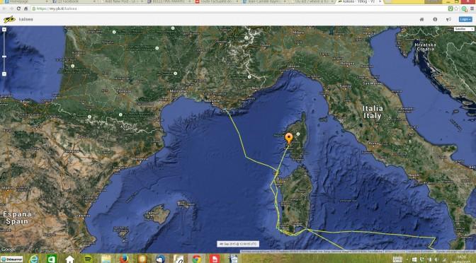 sud Sardaigne – Ajaccio ( 180 milles )